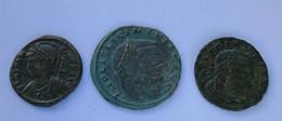 Roman Empire - 2x Licinius / 1x Constantinopolis -  F! (#L5) - 8. The End Of Empire (363 AD To 476 AD)