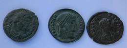 Roman Empire - 1x Constantius I. / 2x Constantius II. - VF! (#L6) - 8. The End Of Empire (363 AD To 476 AD)