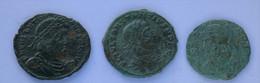 Roman Empire - 1x Valentinianus II. / 1x Constantius II / 1x Urbs Roma - F! (#L14) - 8. Der Spätrömanischen Reich (363 / 476)