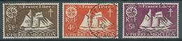 Saint-Pierre Et Miquelon YT N°304-306-307 Série De Londres Oblitéré ° - Oblitérés