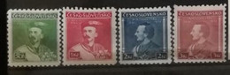 Tchécoslovaquie 1932 / Yvert N°277-280 / ** - Neufs