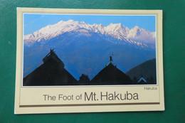 W9/ VIEW OF HAPPO RIDGE AND KAERAZUNOKEN FROM THE FOOT OF MONT HAKAHADAKE JAPON ASIE - Andere