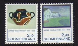 Finlande (1991)  -  Artiste Alfred  William Finch -   Neufs** - MNH - Nuevos