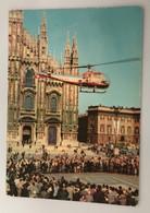 MILANO PUBBLICITARIA BIRRA PRINZ BRAU  PIAZZA DUOMO  ELICOTTERO - Milano