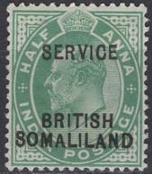 British Somaliland - Official Stamp - ½ A - King Edward VII - Mi 6 - 1903 - Somaliland (Herrschaft ...-1959)