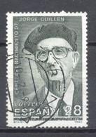 España, 1993, Edifil 3275,Cent. Del Nacimiento De Jorge Guillen,(usado) - 1991-00 Oblitérés