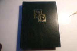 DESTOCK.  PETIT CLASSEUR  TIMBRES DE NEW ZELAND  MONGOLIE HONGRIE  ANGLAIS   OBLIETRES - Sammlungen (im Alben)