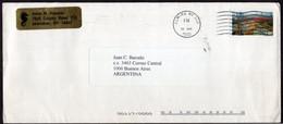USA - 2002 - Letter - Anne N. Kasonic - Sent To Buenos Aires, Argentina - Air Mail - A1RR2 - Cartas