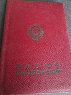PASSPORT. PASSEPORT, YUGOSLAVIA 1965, WITHOUT PHOTO, MANY VISAS, TAX STAMPS - Documentos Históricos