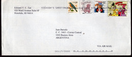 USA - 1999 - Letter - Via Air Mail - Sent To Argentina - A1RR2 - Cartas