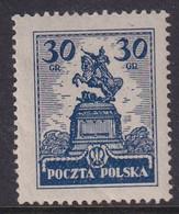 POLAND 1925 Fi 213 II Mint Hinged - Unused Stamps