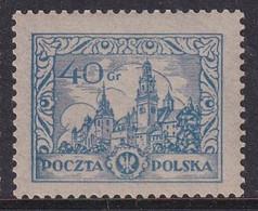 POLAND Scenes 1925 Fi 214 I  Mint Hinged - Unused Stamps