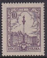 POLAND Scenes 1925 Fi 209 II  Mint Hinged - Unused Stamps