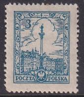POLAND Scenes 1925 Fi 207 I  Mint Hinged - Unused Stamps