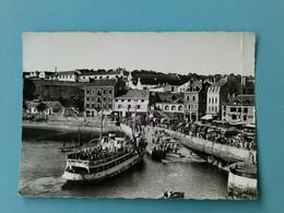 56 - BELLE ILE EN MER - Arrivée Du Vapeur - Belle Ile En Mer