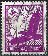 Germany 1934 - Mi 534x - YT Pa 48 (  Golden Eagle And Globe ) - Luchtpost