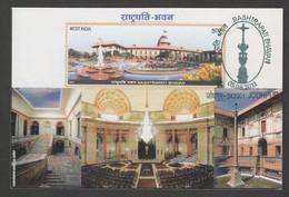 India  2011  Rashtrapati Bhawan  Inner View  Max CArd   #  31660 D  Inde  Indien - Cartas