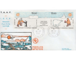 Ref. 540890 * MNH * - FRENCH ANTARCTIC TERRITORY. 1991. THE FRENCH INSTITUTE FOR TECHNOLOGY AND POLAR RESEARCH . INST. F - Cartas
