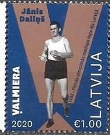 LATVIA, 2020, MNH, SPORTS, TRACK, FIRST LATVIAN OLYMPIC MEDALLIST, JANIS DALINS,1v - Autres