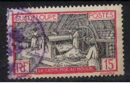 GUADELOUPE          N°  YVERT  :   104     OBLITERE       ( Ob   9 / 51 ) - Usati