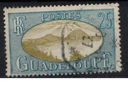 GUADELOUPE          N°  YVERT  :   106  ( 5 )  OBLITERE       ( Ob   9 / 51 ) - Usati