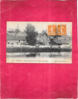VIERZON - 18 - Les Berges Du Canal (n°1)  Et Le Moulin De L'Abbaye - 150221 - - Vierzon