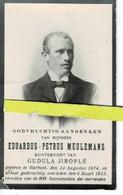 Eduardus Meulemans Echt Gudula Jiroflé O Bierbeek 1874 + Bierbeek 1933 - Images Religieuses