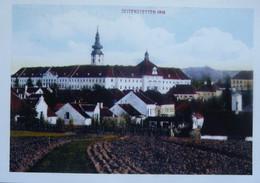 Lot Ansichtskarten 25k Seitenstetten Benediktinerstift Seitenstetten (Ansicht Von 1916) - Autres