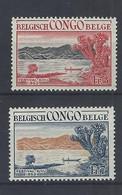 Nr 325-26 ** - 1947-60: Mint/hinged