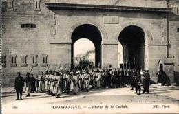 Constantine L'entrée De La Casbah    CPA - Constantine