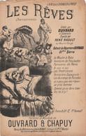 (AUT)les Rêves , OUVRARD , RENE RAOULT  , Paroles Et Musique OUVRARD & CHAPUY  , Illustration DONJEAN - Spartiti