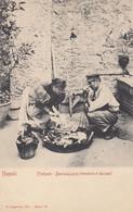 NAPOLI-TIPI E COSTUMI NAPOLETANI-BACCALAJUCCIO-(VENDITORE DI BACCALÀ)-CARTOLINA NON VIAGGIATA -ANNO 1900-1904 - Napoli (Naples)