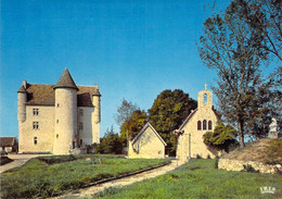 36 - Saint Hilaire Sur Benaize - Château De Villemuzeault (XIIe - XIIIe Siècles) - Andere Gemeenten