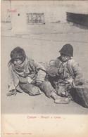 NAPOLI-TIPI E COSTUMI NAPOLETANI-MONELLI A RIPOSO-CARTOLINA NON VIAGGIATA -ANNO 1900-1904 - Napoli (Naples)