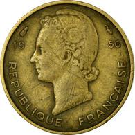 Monnaie, French West Africa, 5 Francs, 1956, Paris, TB, Aluminum-Bronze, KM:5 - Ivory Coast