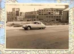 PHOTO Avec CITROEN DS 11cm X 8cm - Unclassified