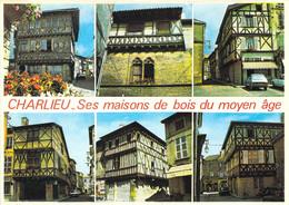 42 - Charlieu - Ses Maisons De Bois Du Moyen âge - Multivues - Charlieu