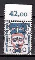 Berlin 1988, MiNr. 814 A (Bogenmarke); Freimarken: Frauen, Gestempelt; Berl.2 - Gebruikt