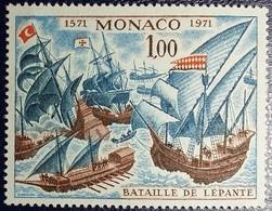 Monaco 1972 - N°870 - 400ème Anniversaire De La Bataille De Lépante - Neuf** MNH - Nuevos