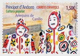 Andorra / Andorre - Postfris / MNH - Harlequins 2021 - Unused Stamps
