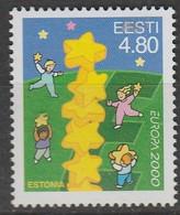 Estonie Europa 2000 N° 358 ** Europa 2000 - 2000