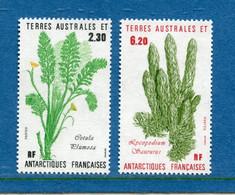 ⭐ TAAF - Terres Australes Et Antarctiques Françaises - YT N° 118 Et 119 ** - Neuf Sans Charnière - 1986 ⭐ - Nuevos