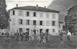 38-St-Egrève- Ambulance Des Convalescents De Champaviote - Sonstige Gemeinden