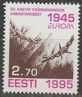 Estonie Europa 1995 N° 263 ** Paix Et Liberté - 1995