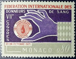 Monaco N°860 Fédération Internationale Des Donneurs De Sang. Neuf** MNH - Nuevos