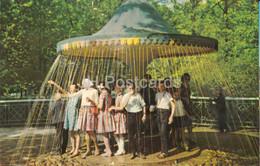 Petrodvorets - Umbrella Fountain - 1966 - Russia USSR - Unused - Russia