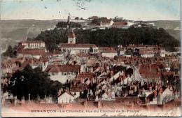 25 Besançon - La Citadelle, Vue Du Clocher De St Pierre (couleur) - Besancon