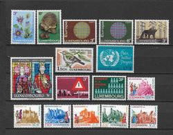 LUXEMBOURG - ANNEE COMPLETE 1970 ** MNH - - Años Completos