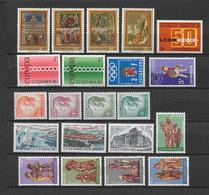 LUXEMBOURG - ANNEE COMPLETE 1971 ** MNH - - Años Completos