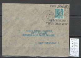France- Lettre - Libération Poche De Saint Nazaire - Batz Sur Mer - 1945 - Liberazione